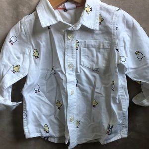 Baby Gap Easter button down